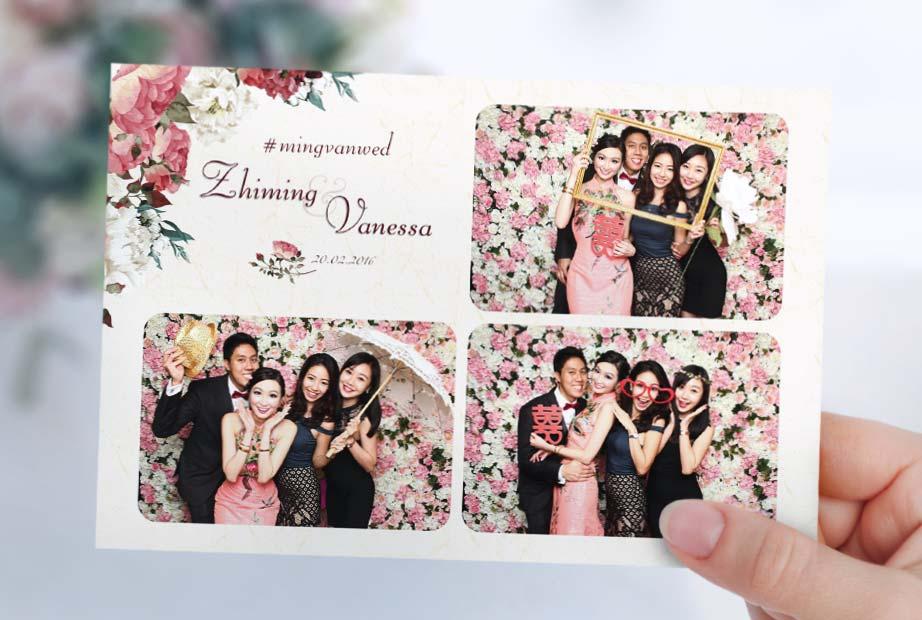 Wedding Instant Photo Booth Singapore